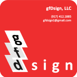 gfDsign is a boutique graphic design consultancy specializing in visual identity, print design, and advertising. With extensive experience working with luxury international brands to small local companies and everything between, we can find a solution to your graphic design needs - realized or unrealized. Find us online at www.gfdsign.wordpress.com
