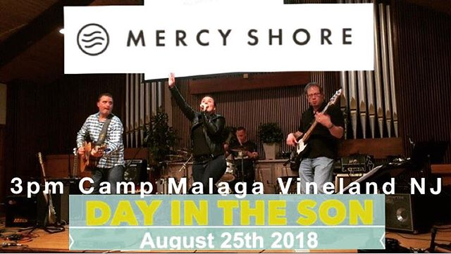 Mercy Shore heads back to South Jersey in two weeks!! Hope to see you there 💛