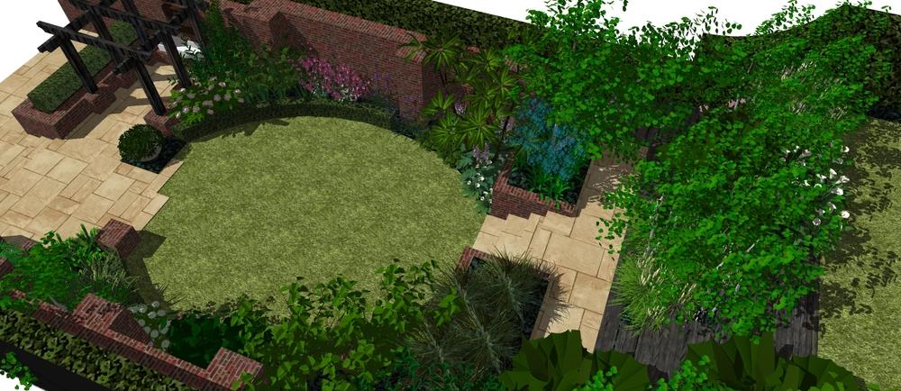 stranmillis garden design hanratty