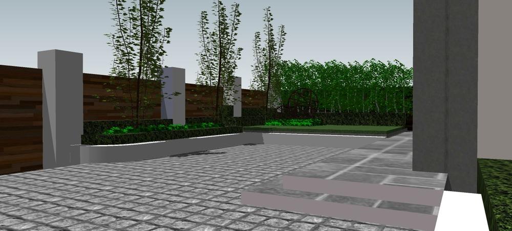 3d driveway and garden design horticulture greenmount