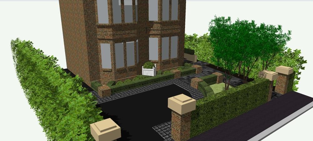 3d garden design northern ireland for driveway