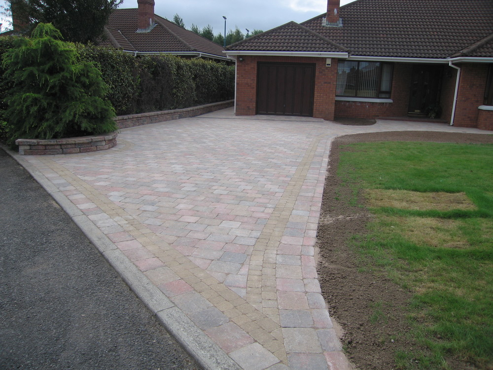 tegula paving contractor belfast driveway