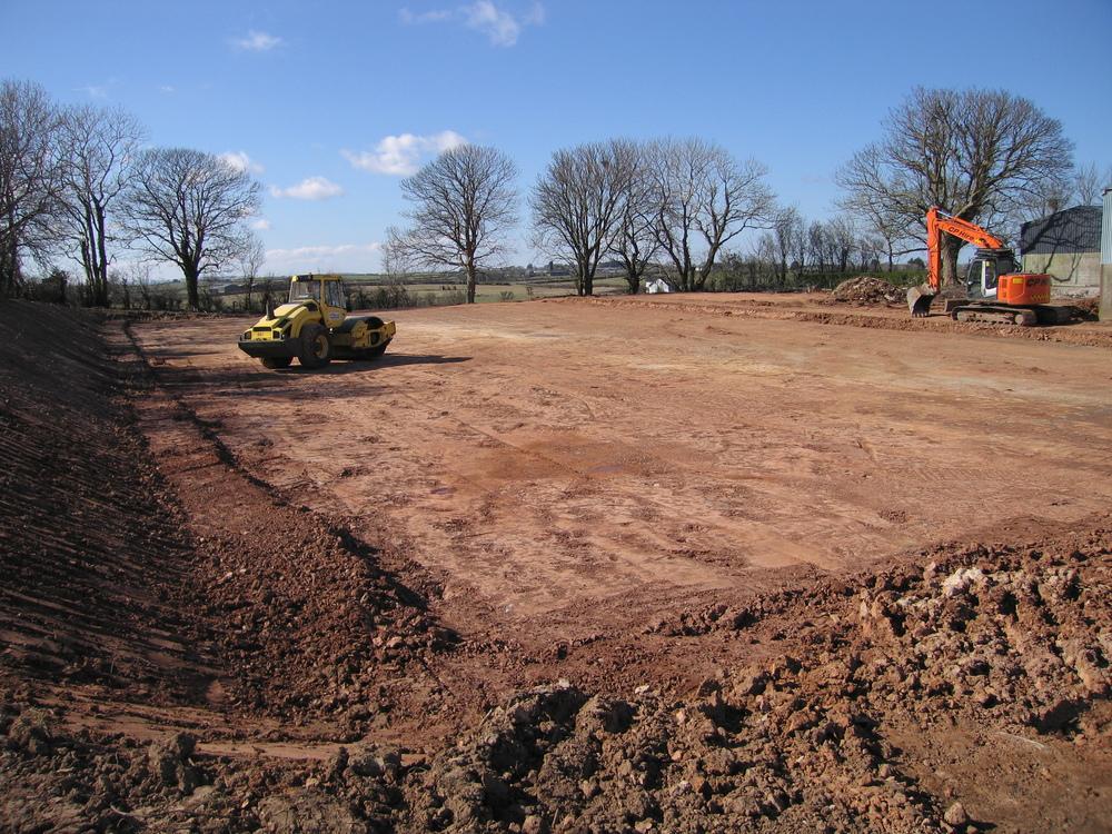 horse arena construction Northern Ireland uk