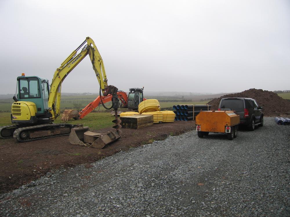 landscape drainage in Belfast  carryduff building supplies