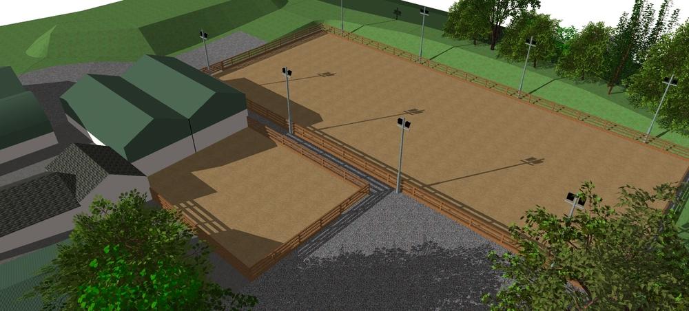 3d design of equestrian construction northern ireland