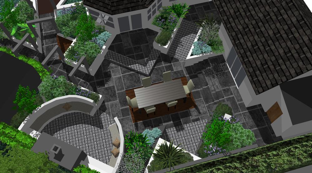 3d garden design belfast
