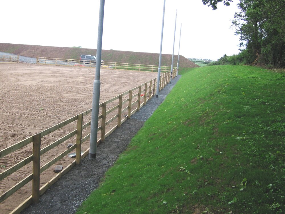 equestrian arena design landscaping northern ireland