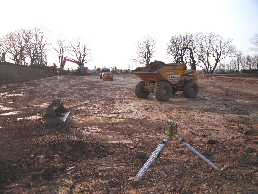 equestrian groundworks construction cp hire