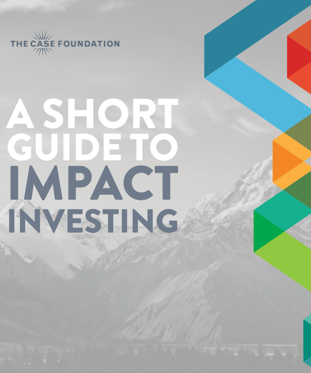 A Short Guide to Impact Investing ,  by The Case Foundation   A fantastic, short introduction to impact investing, including many examples