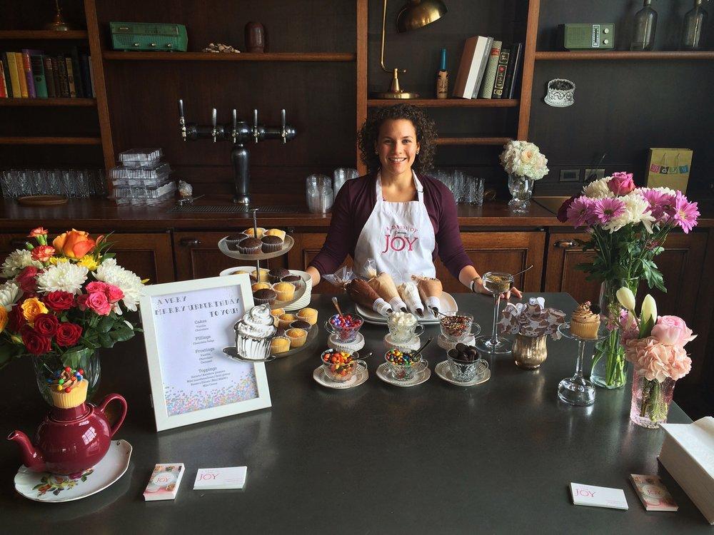 Unbirthday Cupcake Bar