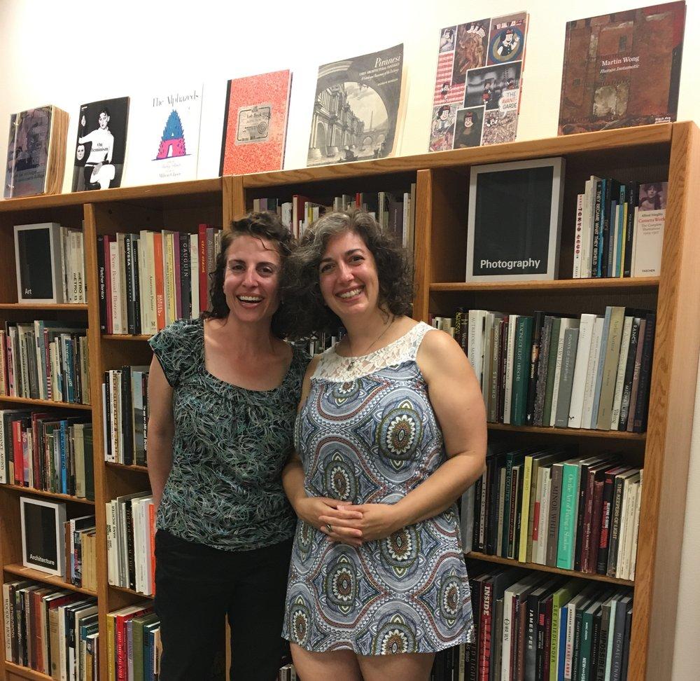 with Lauren Camp at Passages Bookshop
