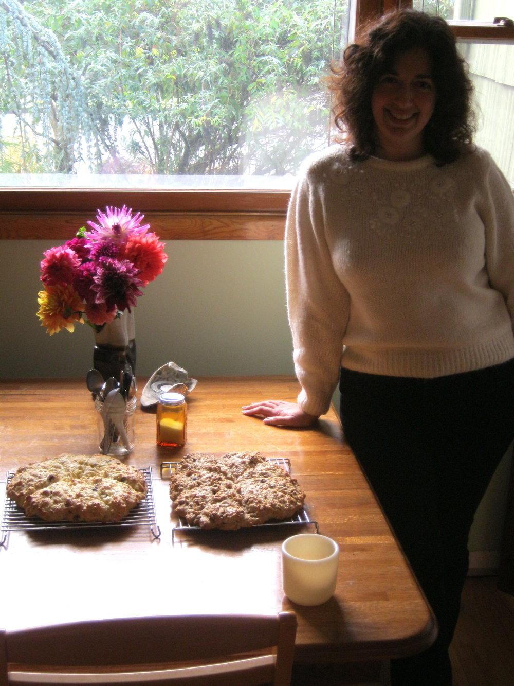 writing fuel birthday scones