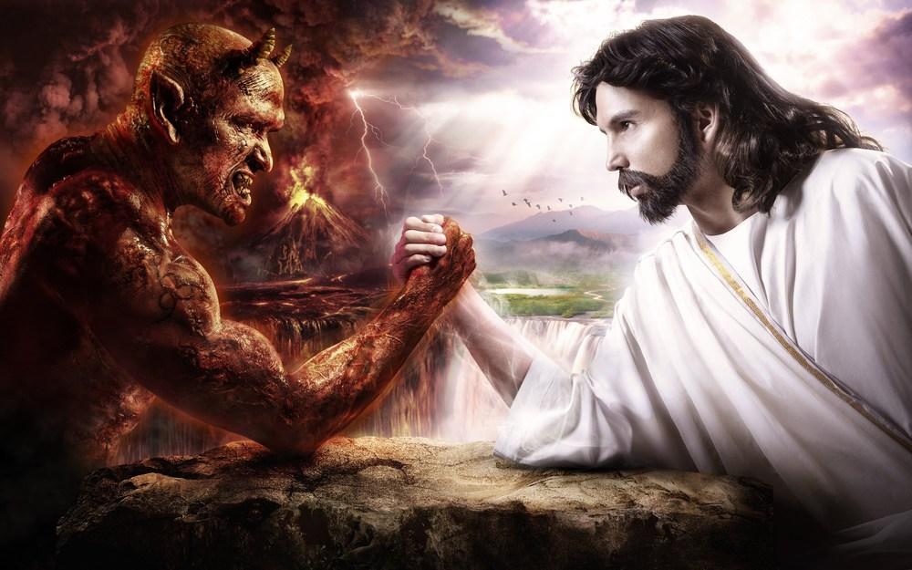 jesus arm wrestling Satan.jpg