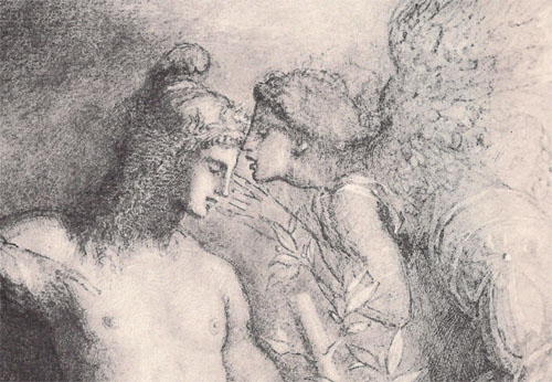 (Painting by Gustave Moreau)