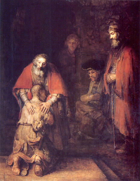Return of the Prodigal Son by Carravaggio
