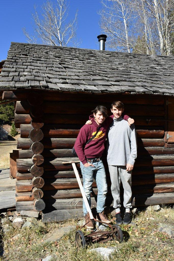 At Garnet ghost town, Montana.