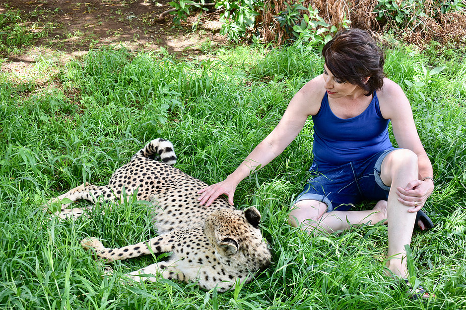 leslie petting cheetah.jpg