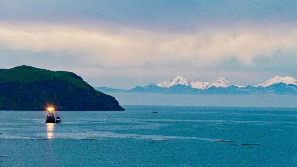 Bear Island--snowy mountains+boat.jpg