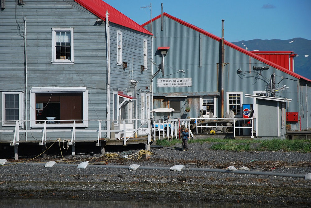 Larsen Bay--front of cannery office.jpg