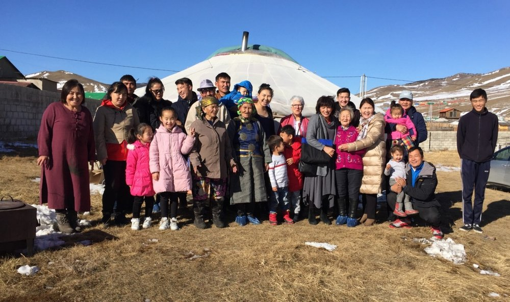 Mongolia--church gathering outside ger.jpeg