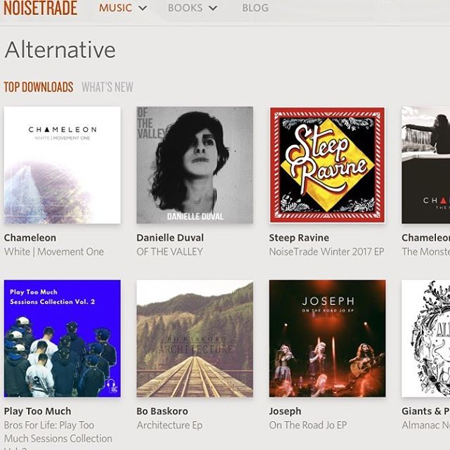 "Our latest EP is featured @noisetrade ""new and notable""  this week! www.noisetrade.com #freemusic #topdownloads #white #noisetrade #nycband #free #folk #fuckcancer"