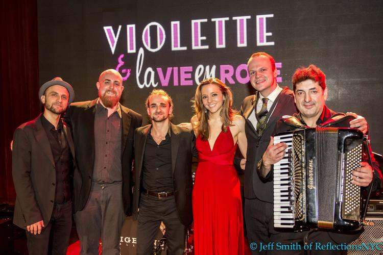 the violettes band
