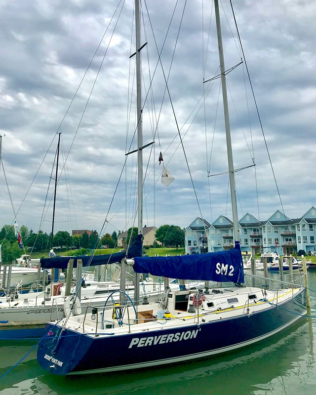 2018 Port Huron to Mackinac sailboat race.  Part I - virtually no wind and a very delayed start. Still an amazing time.  #syndey41 #michigan #lakehuron #porthuron #mackinacisland #mackinacrace2018 #porthurontomackinac #sailing #sailinglife #sailboat #boatsfloat