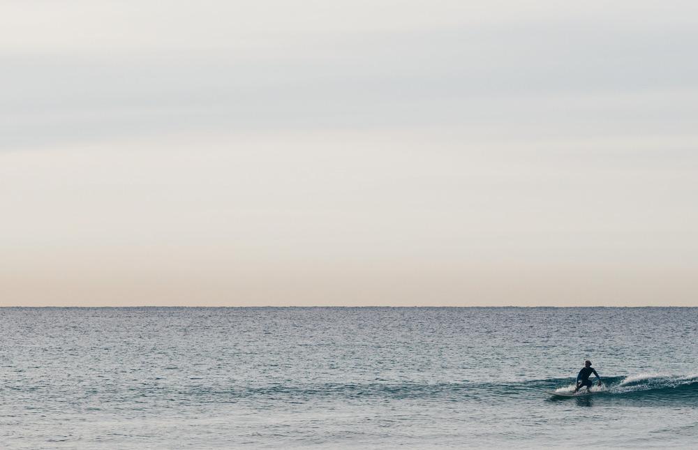 'Sunrise Surfer'    Olympus OM-D E-M1 + 75mm f/1.8
