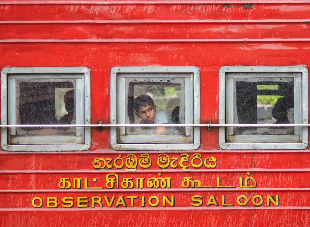 Waiting for my train to Ella from Hatton, Sri Lanka. Had just waved goodbye to some new friends from Spain. The next train to Ella was delayed and I was a little annoyed because of it. I now realise and am reminded that things happen for a reason. I now had more time at the station and met a beautiful family, my friend travelling with me spent time feeding the stray dogs determined to save them all . I am now grateful for the delay as I was able to capture this image, which still remains a favourite. Lesson learnt, just go with it and don't rush. Olympus OM-D E-M1 + 75mm f1.8