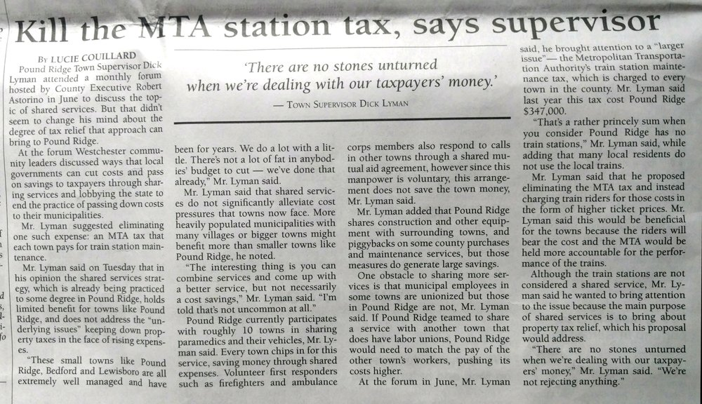 Kill the MTA station tax, says supervisor.jpg