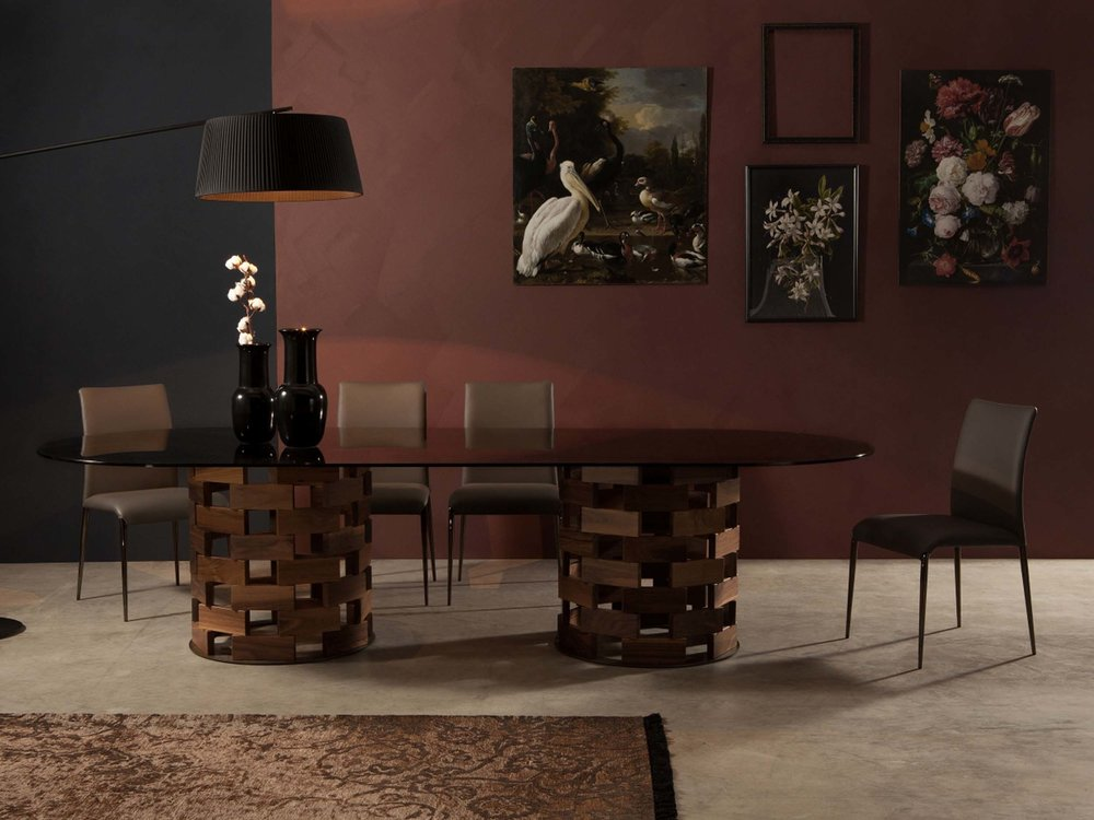 Big Colosseo Table & Lisetta Chair