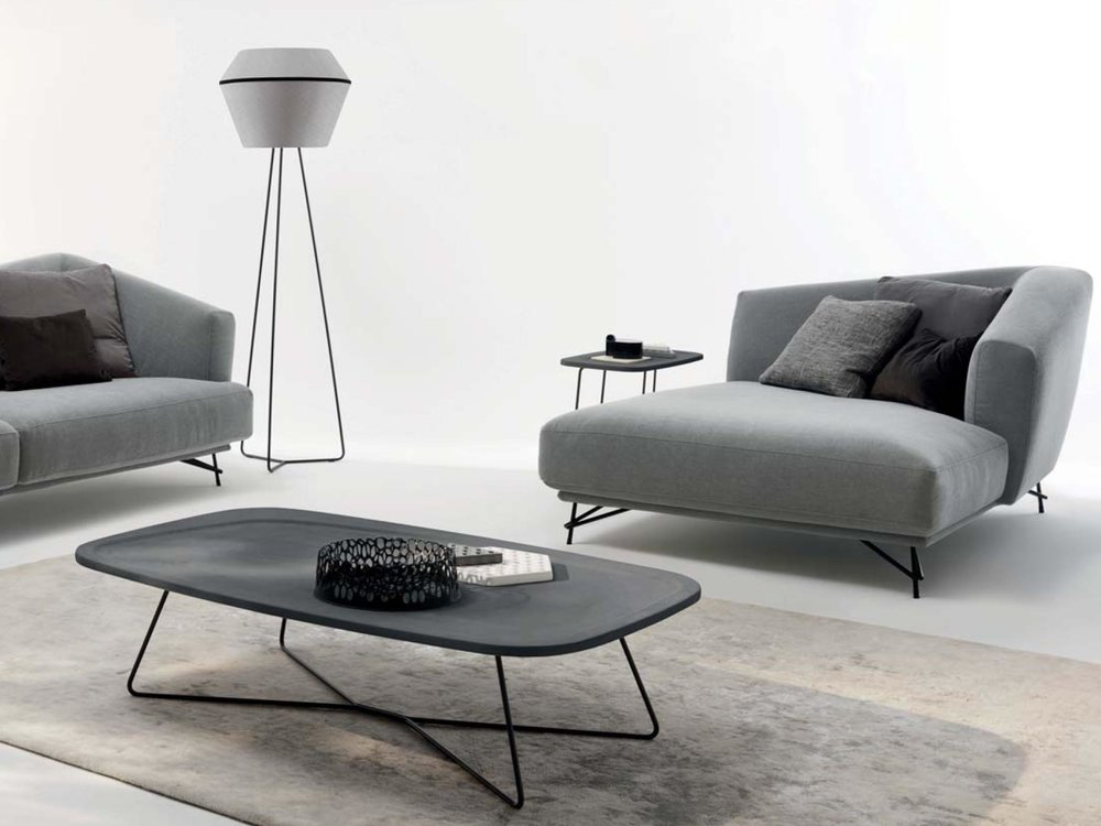 Verve Central Table + Darling Lamp