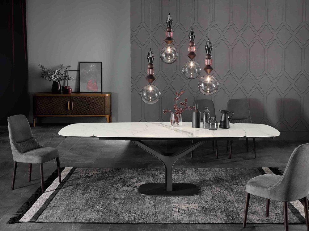 Ariston Table + Juliette Chair