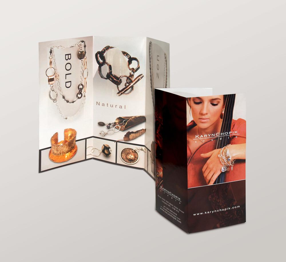 <strong>Karyn Chopik</strong> tri-fold brochure