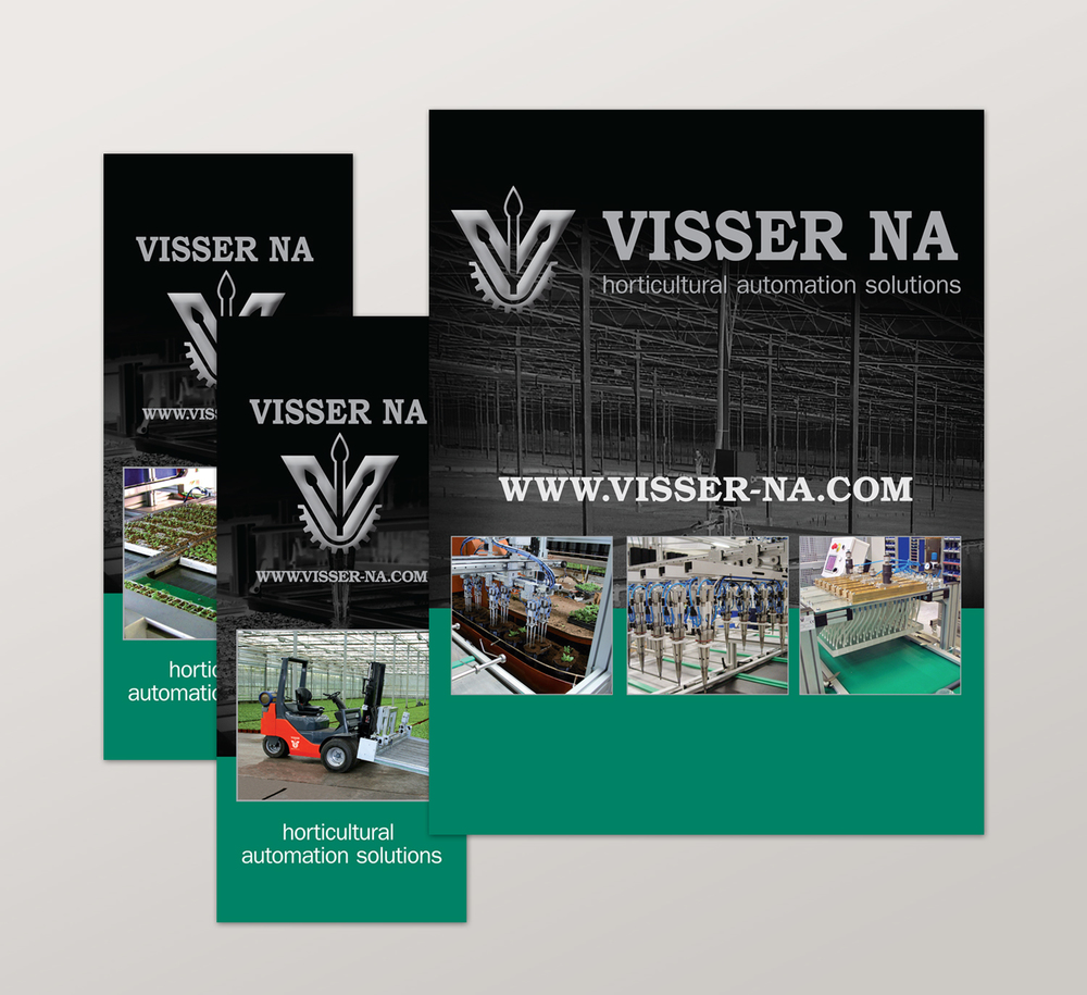 <strong>Visser NA</strong> tradeshow booth banners