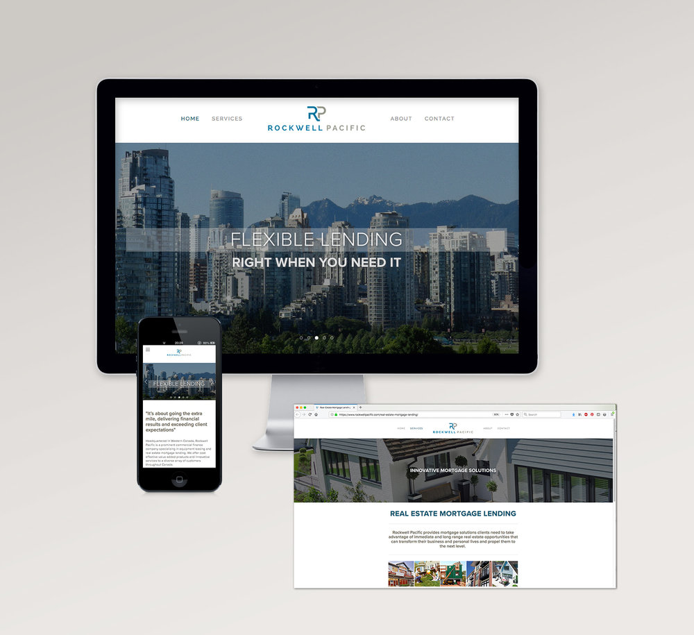<strong>Rockwell Pacific</strong> website design