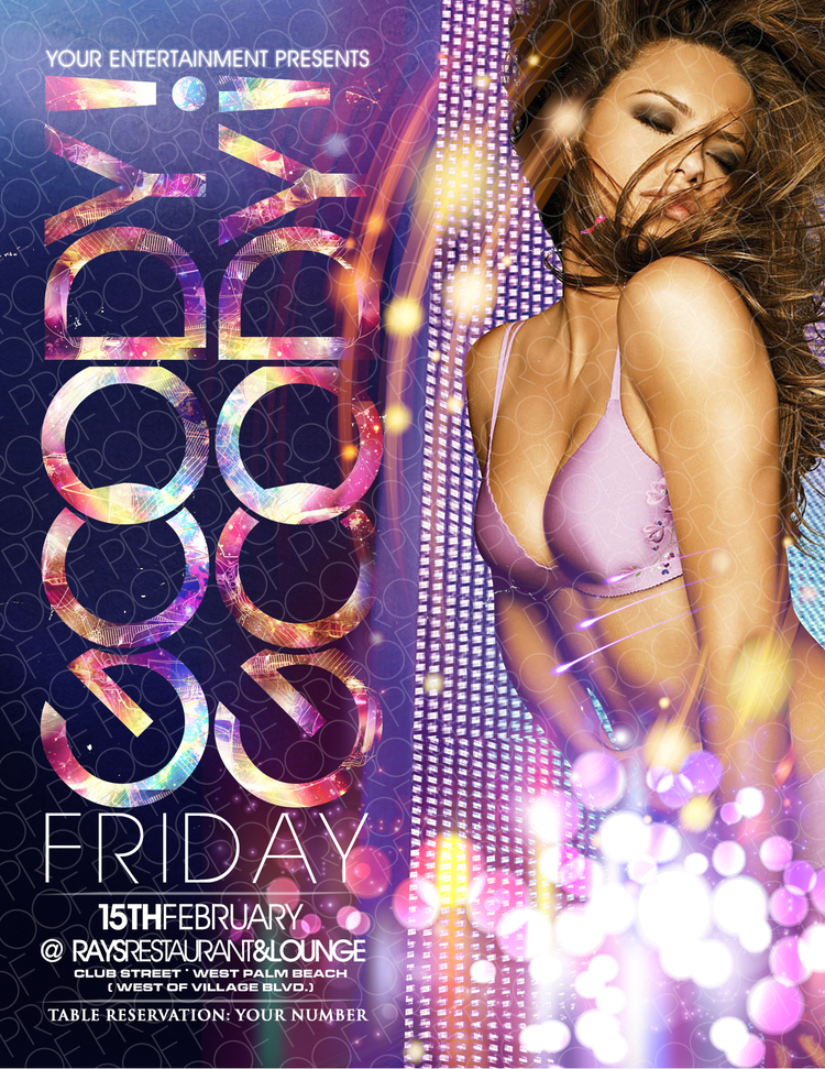 Club Flyer Templates | Night Club Flyers | Flyer Design Templates