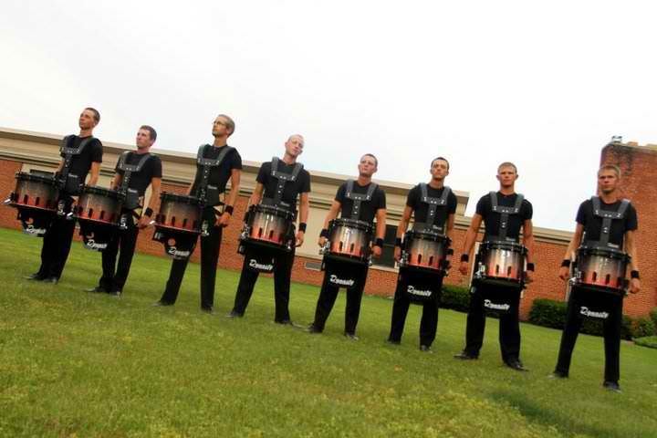 Glassmen Drum and Bugle Corps, 2011 Snareline