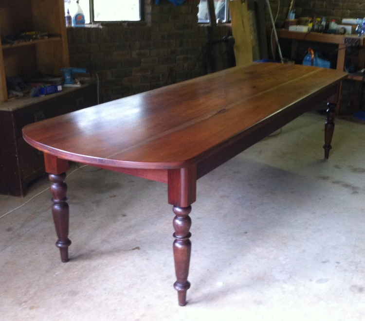FOR SALE Queensland Maple And Australian Cedar 10ft Dining Table Price On Enquiry
