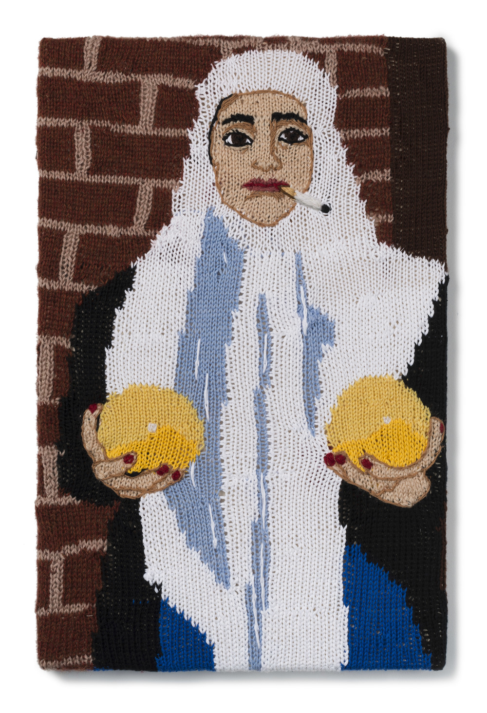 "Feminist Fan #22 (Sarah Maple, Self Portrait with Melons, 2012), 2016          Normal   0           false   false   false     EN-AU   JA   X-NONE                                                                                                                                                                                                                                                                                                                                                                           /* Style Definitions */  table.MsoNormalTable 	{mso-style-name:""Table Normal""; 	mso-tstyle-rowband-size:0; 	mso-tstyle-colband-size:0; 	mso-style-noshow:yes; 	mso-style-priority:99; 	mso-style-parent:""""; 	mso-padding-alt:0in 5.4pt 0in 5.4pt; 	mso-para-margin-top:0in; 	mso-para-margin-right:0in; 	mso-para-margin-bottom:10.0pt; 	mso-para-margin-left:0in; 	line-height:115%; 	mso-pagination:widow-orphan; 	font-size:11.0pt; 	font-family:""Calibri"",""sans-serif""; 	mso-ascii-font-family:Calibri; 	mso-ascii-theme-font:minor-latin; 	mso-hansi-font-family:Calibri; 	mso-hansi-theme-font:minor-latin; 	mso-fareast-language:EN-US;}"