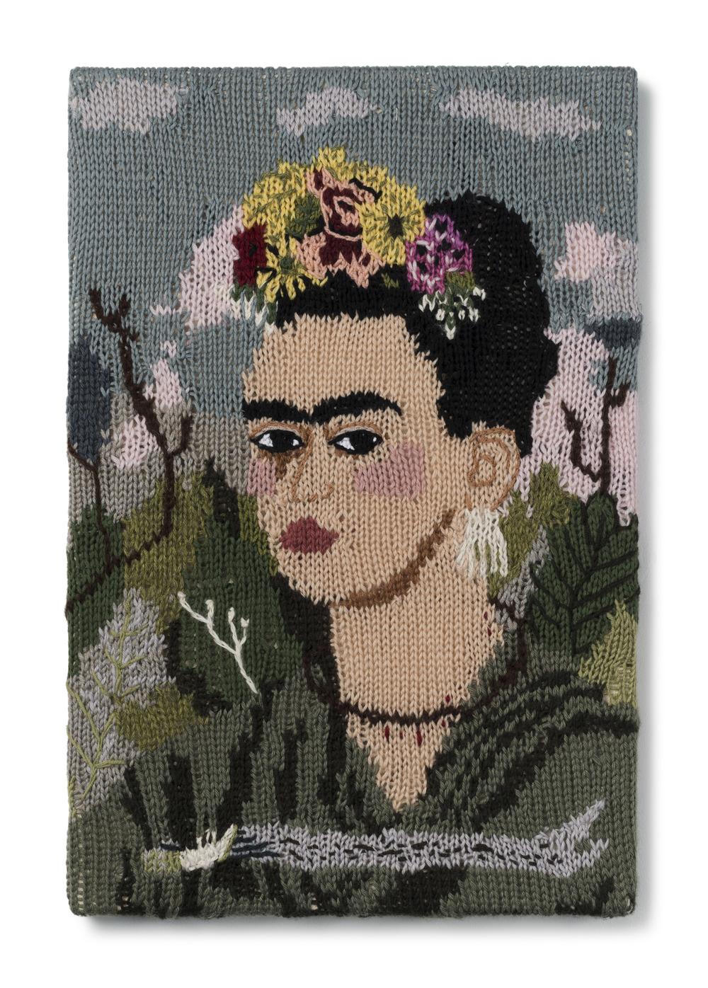 "Kate Just, Feminist Fan #14 (Frida Kahlo Self Portrait: 1940), 2015         Normal   0           false   false   false     EN-AU   JA   X-NONE                                                                                                                                                                                                                                                                                                                                                                           /* Style Definitions */  table.MsoNormalTable {mso-style-name:""Table Normal""; mso-tstyle-rowband-size:0; mso-tstyle-colband-size:0; mso-style-noshow:yes; mso-style-priority:99; mso-style-parent:""""; mso-padding-alt:0in 5.4pt 0in 5.4pt; mso-para-margin-top:0in; mso-para-margin-right:0in; mso-para-margin-bottom:10.0pt; mso-para-margin-left:0in; line-height:115%; mso-pagination:widow-orphan; font-size:11.0pt; font-family:""Calibri"",""sans-serif""; mso-ascii-font-family:Calibri; mso-ascii-theme-font:minor-latin; mso-hansi-font-family:Calibri; mso-hansi-theme-font:minor-latin; mso-fareast-language:EN-US;}"