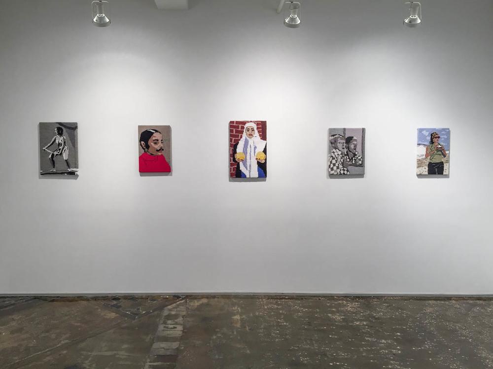 Feminist Fan, installation view, A.I.R. Gallery, New York, 2016.