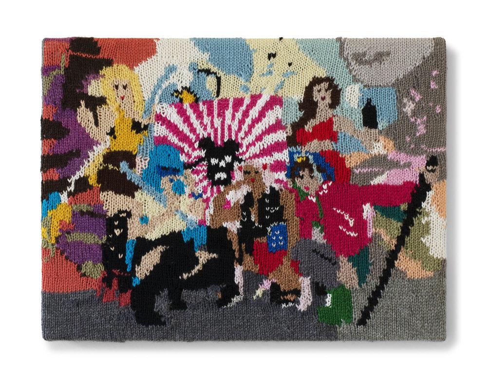 Kate Just, Feminist Fan #8 (Sailor Moon Girl Gang Cosplay: Michelle Nguyen, Mandie Bettencourt, Ruby Rocket, Yume Ninja and Jennifer Newman, 2013), 2015