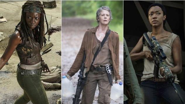 The Walking Dead's Costume Designer on Dressing Women for World's End