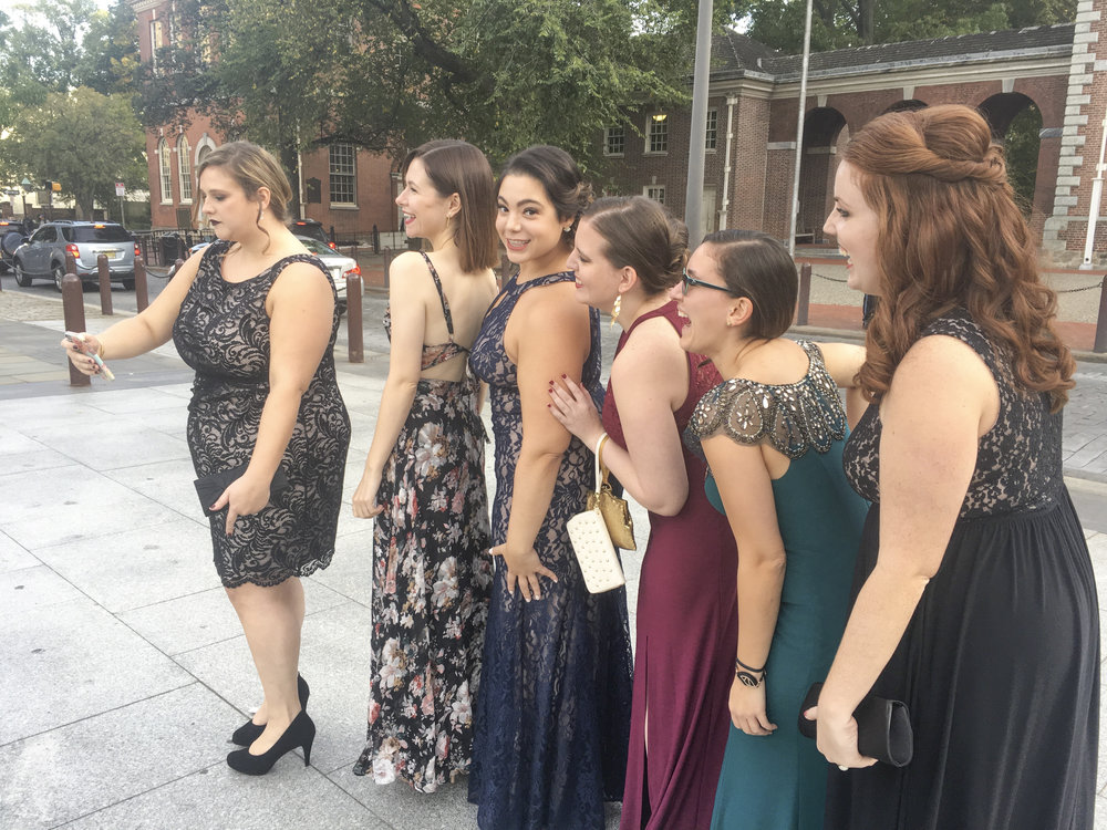 a friend's wedding,