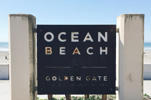The best kind of beach wear 🏖 #oceanbeach #goldengatenationalrecreationarea