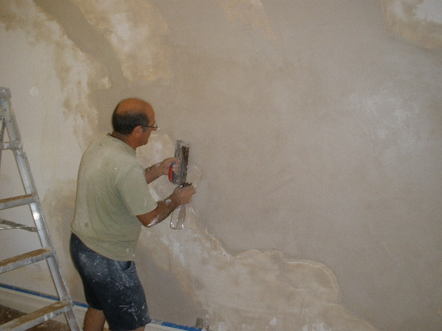 Internal Plaster wall painting