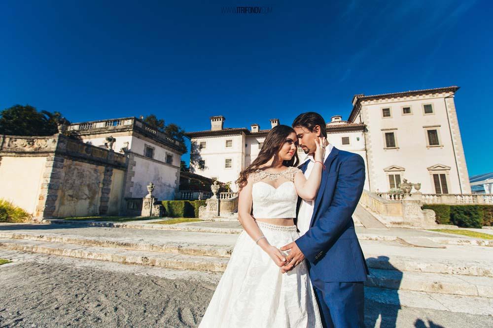 Carina & Jenia | Vizcaya Museum Wedding Photography