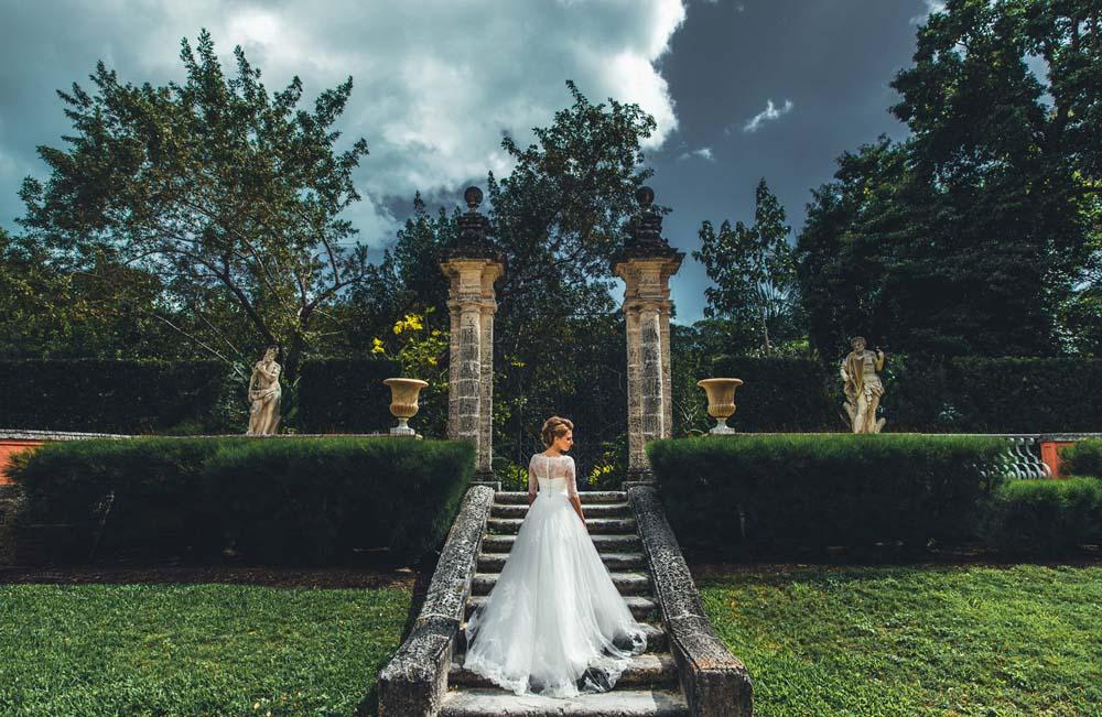 Lidia & Dragosh | Vizcaya Museum Miami Wedding Photographer