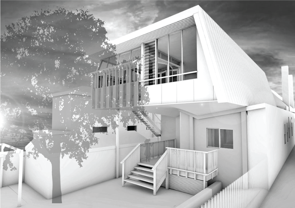 Marrickville - first floor addition to existing cottage house.